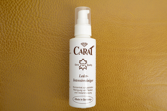 Carat Leather Cleaner가죽 전용 크리너 (40ml/120ml)made in Germany